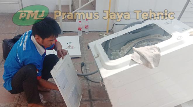 jasa service mesin cuci bukaan depan Serpong