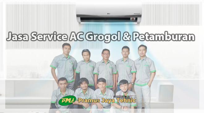 Jasa Service AC Grogol Petamburan